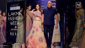 Kriti Sanon Turns Gorgeous Bride for Tarun Tahiliani at Lakme Fashion Week SR 18