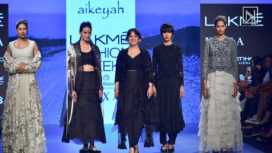 Aikeyah Showcases at Lakme Fashion Week Summer Resort 2018