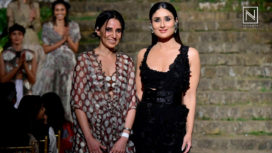 Kareena Kapoor Khan Wraps up Lakme Fashion Week SR 18 in Style with Anamika Khanna