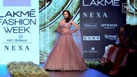 Sania Mirza Turns Perfect Muse For Anushree Reddy at Lakme Fashion Week SR 2018