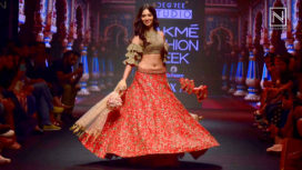 Tamannaah Takes Centre Stage for Ashwini Reddy at Lakme Fashion Week Summer Resort 2018