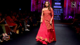 Bipasha Basu Turns Perfect Muse for Reshma Kunhi at Lakme Fashion Week SR 18