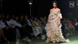 Disha Patani Turns Muse For Shriya Som at Lakme Fashion Week SR 18