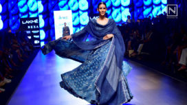 Neel by Gaurang Shah Depicts Textiles from India at Lakme Fashion Week SR 2018