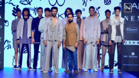 Kartik Aaryan Turns Showstopper for Amit Wadhwa at Lakme Fashion Week SR 18