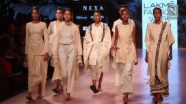 Richana Khumanthem Presents Her Collection at Lakme Fashion Week Summer Resort 2018