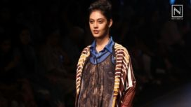 Saaksha & Kinni Amazes With Their Collection at Lakme Fashion Week Summer Resort 2018