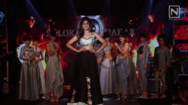 Shamita Shetty Impresses as Showstopper for Shloka Sudhakar