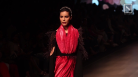 Metallics Revisited by Shweta Kapur at Lakme Fashion Week SR 2018