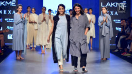 Swara Bhaskar Walks as Showstopper for Nakita Singh at Lakme Fashion Week SR 2018