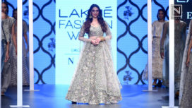 Aditi Rao Hydari Walks for Payal Singhal at Lakme Fashion Week Summer Resort 2018