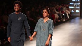 Tillotama Shome Walks for the label Maku at Lakme Fashion Week Summer Resort 2018