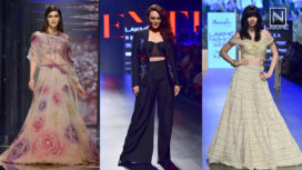 Celeb Showstoppers on Day 3 for Lakme Fashion Week Summer Resort 2018