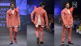 Karan Singh Grover Walks for Raamz & Chandrika Raamz at Lakme Fashion Week SR 18