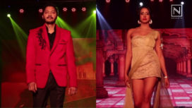 Shreyas Talpade and Sanjjanaa Galrani Turn Showstoppers for Ramesh Dembla