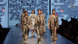 Aartivijay Gupta Showcases at Amazon India Fashion Week Autumn Winter 2018