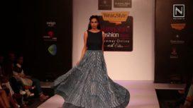 Abhikshita and Namrata at Bangalore Fashion Week Summer Online 2018