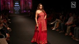 Bipasha Basu Turns Showstopper for Reshma Kunhi at Lakme Fashion Week SR 18