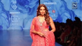 Bipasha Basu Turns Bride for Karishma Deepa Sondhi at AIFW AW 2018