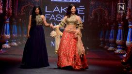 Tamannaah Turns Perfect Muse to Ashwini Reddy at Lakme Fashion Week Summer Resort 2018