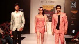 Deepa Kumari Showcases at Bangalore Fashion Week Summer Online 2018