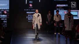 Sahil Aneja Showcases Error at Amazon India Fashion Week Autumn Winter 2018