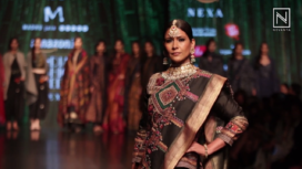 Madhu Jain at Amazon India Fashion Week Autumn Winter 2018