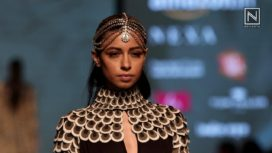 High Priestess Showcase by Malini Ramani at Amazon India Fashion Week AW 2018
