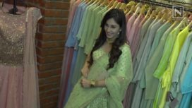 Pooja Chopra Sports a Muted-Toned Lehenga for the Bridal Season
