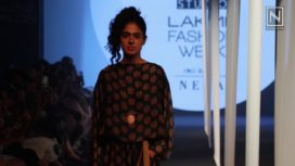 Naushad Ali Showcases at Lakme Fashion Week Summer Resort 2018