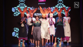 Nida Mahmood Showcases at Amazon India Fashion Week Autumn Winter 2018