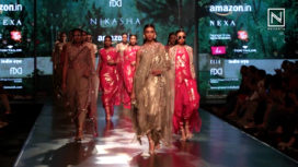 Nikasha Showcases Keya at Amazon India Fashion Week Autumn Winter 2018