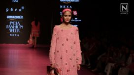 Pink and Coral Runway by Pero at Amazon India Fashion Week Autumn Winter 2018