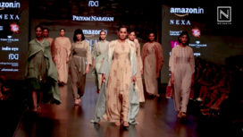 Priyam Narayan at Amazon India Fashion Week Autumn Winter 2018