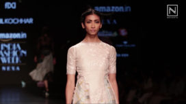 Sahil Kochhar showcases Chitr at Amazon India Fashion Week Autumn Winter 2018