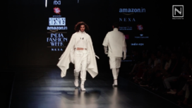 Nought One by Abhishek Paatni at Amazon India Fashion Week Autumn Winter 2018