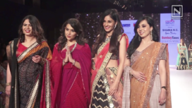 Pooja Chopra Walks for Shaina NC at Bombay Times Fashion Week 2018