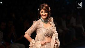 Shilpa Shetty Kundra  Turns Perfect Muse for Jayanti Reddy at Lakme Fashion Week SR 18