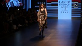 Taapsee Pannu Turns Muse for Ritu Kumar at Lakme Fashion Week SR 18