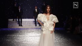 Vaani Kapoor Stuns as Showstopper for Gauri & Nainika and Ashish Soni at AIFW AW18