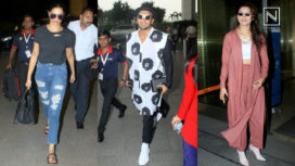 Your Favorite Bollywood Celebrities and their Airport Style for March 2018
