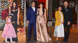 Mukesh and Nita Ambani Throw a Grand Engagement Party for Akash Ambani and Shloka Mehta