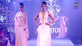 Aasif Merchant Showcases his Collection at Andhra Pradesh Fashion Week 2018