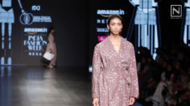 Abhi Singh Showcases at Amazon India Fashion Week Autumn Winter 2018