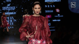 Defiance by Adarsh Gill at Amazon India Fashion Week Autumn Winter 2018