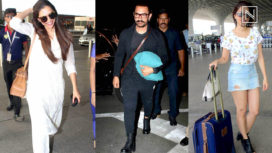 Bollywood Celebs and their Best Airport Looks this Week