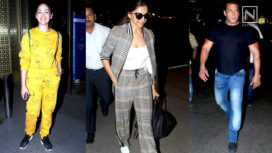 Your Favourite Bollywood Celebrities Looking their Best at the Airport