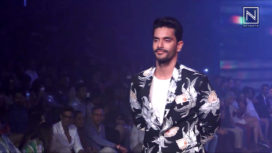 Angad Bedi Walks for Narendra Kumar at Bombay Times Fashion Week 2018