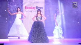 Benafsha Soonawalla Turns Muse for Pinky & Sheshank at Bombay Times Fashion Week 2018