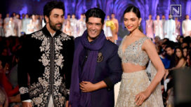 Deepika Padukone and Ranbir Kapoor Walk for the Mijwan Fashion Show 2018